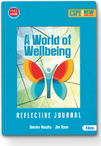 A World of Wellbeing Reflective Journal Cover 320px